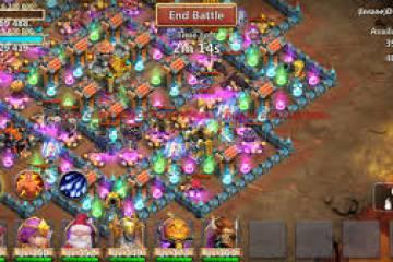 Castle Clash: Brave Squads   Gamehag